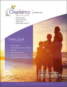 Chaplaincy Summer Newsletter