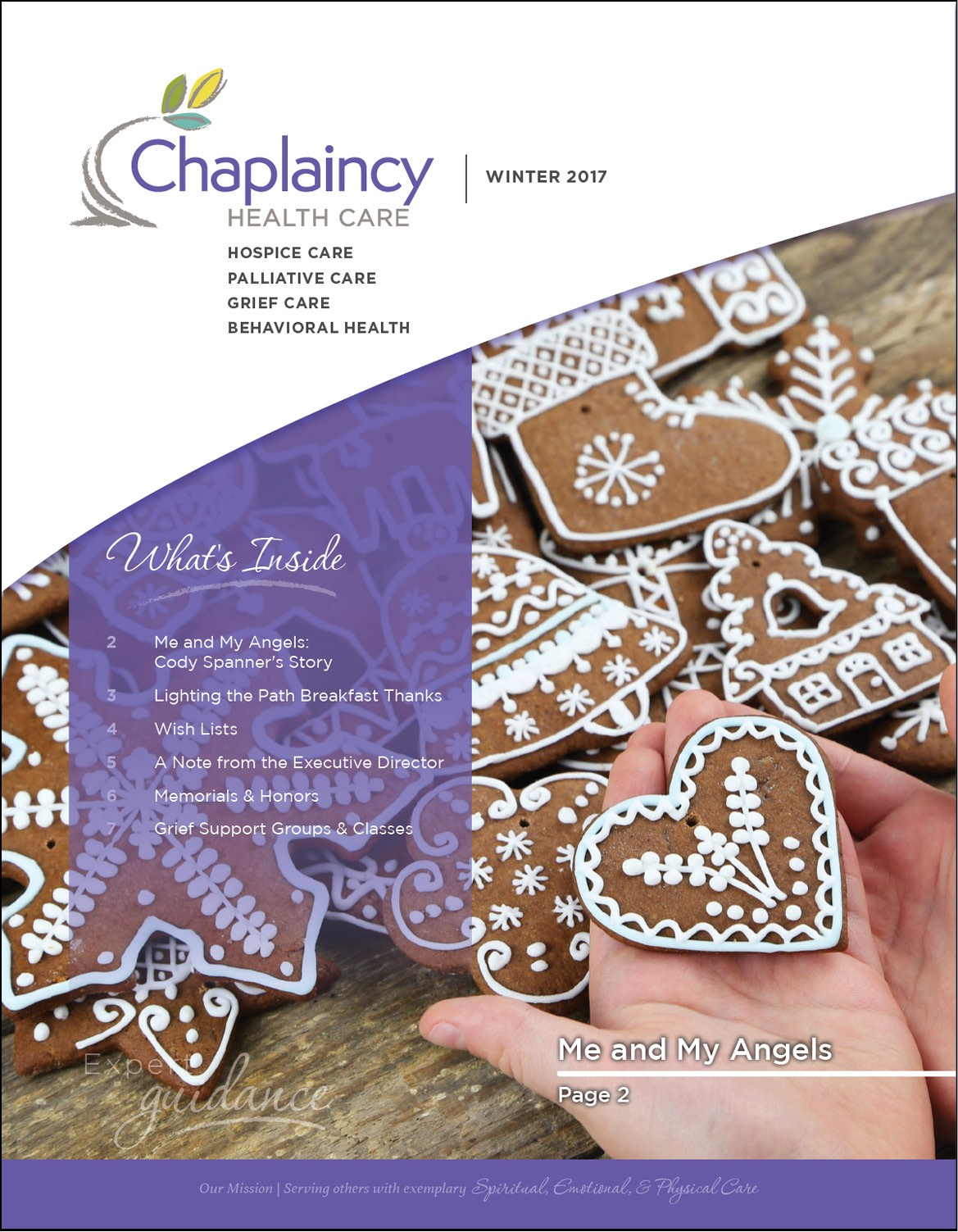 Chaplaincy Health Care Winter Newsletter