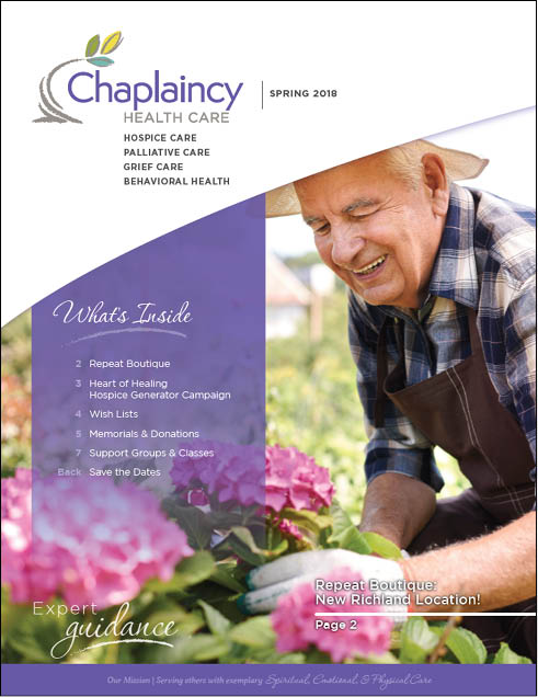 Chaplaincy Health Care Spring Newsletter