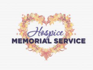 Hospice Memorial Service