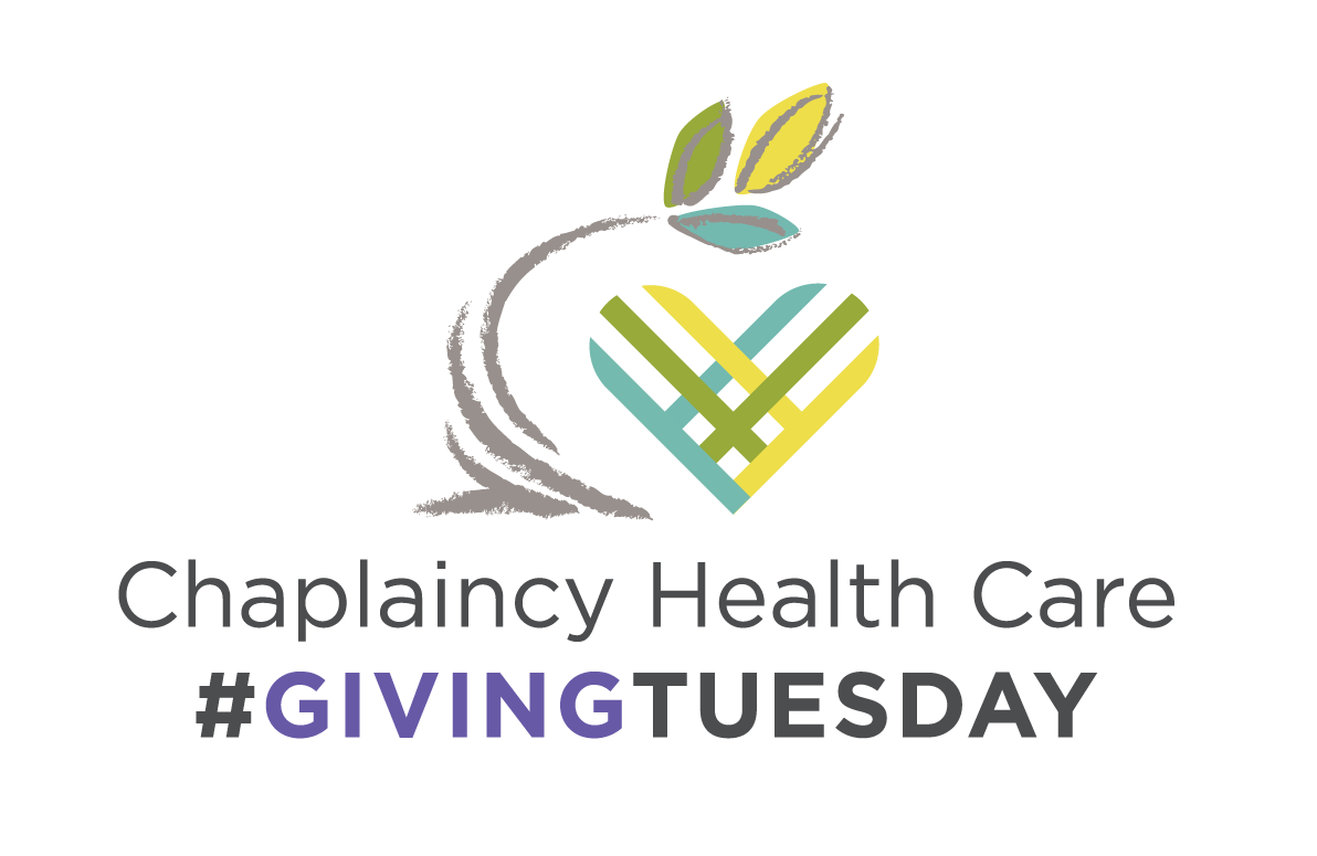 Chaplaincy Health Care needs you this Giving Tuesday!