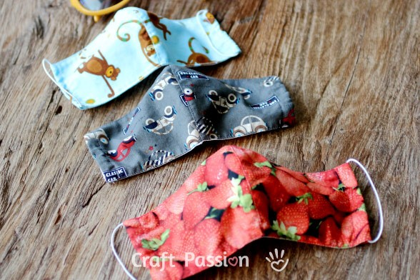 sew face mask size pattern - COVID-19 Information